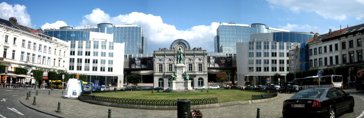 Place du Luxembourg Brussel, Wikipedia